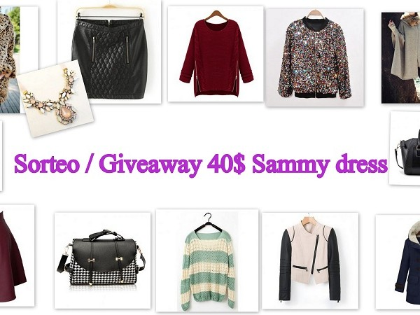 Sorteo-Giveaway 40$ Sammy Dress