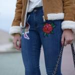jeans parches